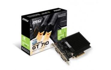 Karta VGA MSI GT 710 2GD3H H2D 2GB DDR3 64bit 2xDVI+HDMI PCIe2.0