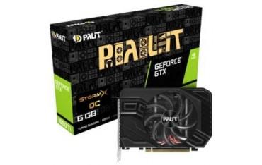 Karta VGA Palit GTX1660 Ti StormX OC 6GB GDDR6 192bit DVI+HDMI+DP PCIe3.0