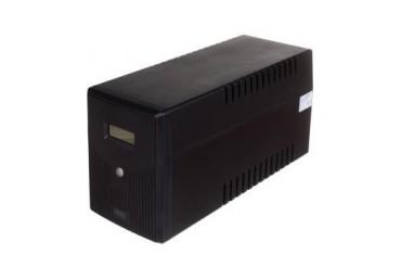Zasilacz awaryjny UPS Digitus Line-Interactive LCD 2000VA/1200W 2x12V/9Ah AVR 4xSCHUKO USB RS232 RJ45