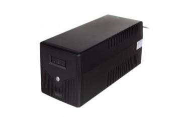 Zasilacz awaryjny UPS Digitus Line-Interactive LED 1000VA/600W 2x12V/7Ah AVR 4xSCHUKO USB RS232 RJ45