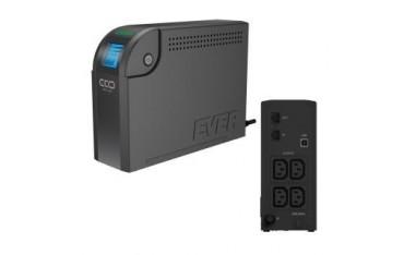 Zasilacz awaryjny UPS Ever Off-Line LCD 500VA 4xIEC USB LCD Bl