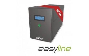 Zasilacz awaryjny UPS Ever Line-Interactive EASYLINE 1200 AVR 2xSCH USB RJ-11 LCD Bl