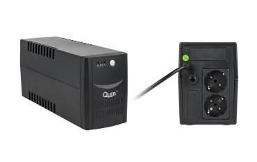 Zasilacz awaryjny UPS Quer Micropower 600 (offline, 600VA / 360W / 2xSCHUKO)