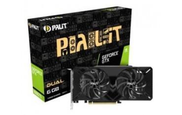 Karta VGA Palit GTX1660 Ti Dual 6GB GDDR6 192bit DVI+HDMI+DP PCIe3.0