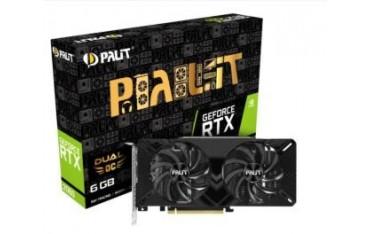 Karta VGA Palit RTX™ 2060 Dual OC 6GB GDDR6 192bit DVI+HDMI+DP PCIe3.0