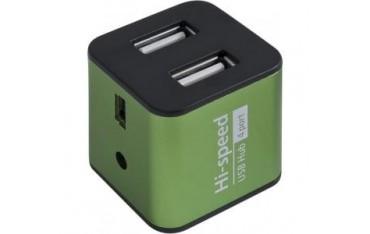 Hub Defender QUADRO IRON USB 2.0 4-porty aluminiowy