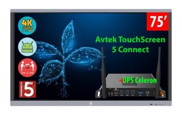 Monitor interaktywny Avtek TouchScreen 5 Connect 75 4K
