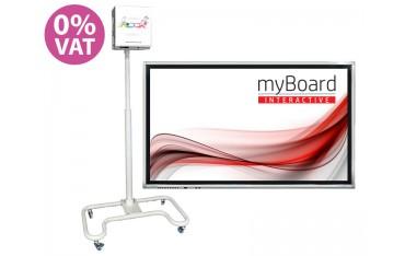 """Zestaw Monitor myBoard 65"""" - VAT 0% + podłoga interaktywna SMARTFLOOR - OFERTA TYLKO DLA SZKÓŁ!"""