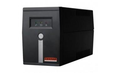 Zasilacz awaryjny UPS Lestar MC-655ff Line-Interactive AVR 2xFR 600VA/360W BLACK