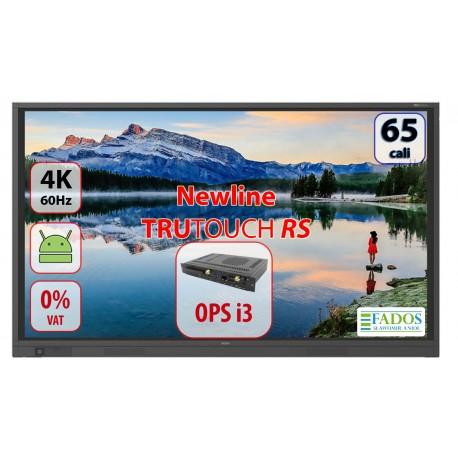 Monitor interaktywny 65 cali 4K Newline TruTouch TT-6518RS