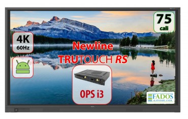 Monitor interaktywny 75 cali 4K Newline TruTouch TT-7518RS