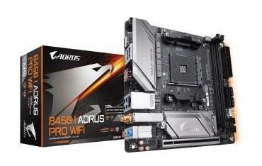 Płyta Gigabyte B450 I AORUS PRO WIFI /AMD B450/DDR4/SATA3/M.2/USB3.1/PCIe3.0/AM4/mITX