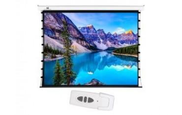 """Ekran projekcyjny z naciągiem Maclean MC-952 elektryczny 150"""" 4:3 ściana lub sufit"""