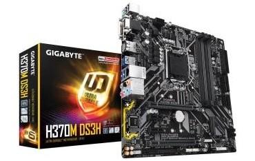 Płyta Gigabyte H370M DS3H/H370/DDR4/SATA3/M.2/USB3.0/PCIe3.0/s.1151/uATX