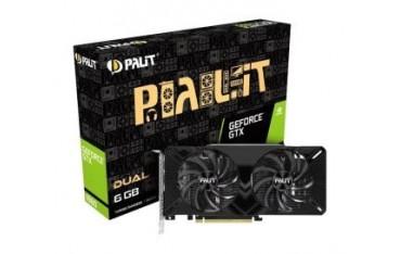 Karta VGA Palit GTX 1660 Dual 6GB GDDR5 192bit DVI+HDMI+DP PCIe3.0