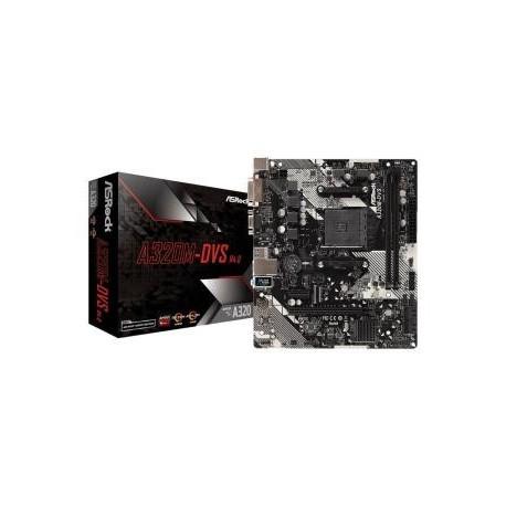 Płyta ASRock A320M-DVS R4.0 /AMD A320/DDR4/SATA3/M.2/USB3.0/PCIe3.0/AM4/mATX
