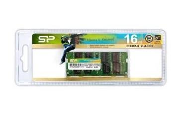 Pamięć DDR4 SODIMM Silicon Power 16GB 2400MHz CL17 1,2V 1Gx8 260pin