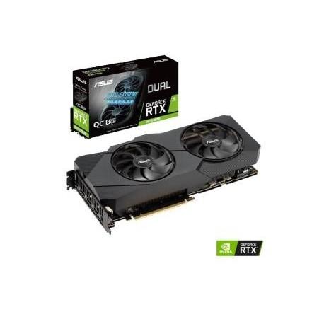 Karta VGA Asus GeForce RTX 2070 Super DUAL-RTX2070S-O8G-EVO 8GB 256bit GDDR6 HDMI+3xDP PCIe3.0