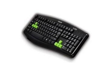 Klawiatura przewodowa E-Blue Elated Gaming czarna
