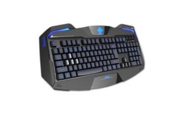 Klawiatura przewodowa E-Blue Auroza Gaming LED czarna