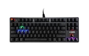 Klawiatura przewodowa iBOX Aurora K-2 Gaming, mechaniczna, podświetlana
