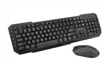 Zestaw przewodowy klawiatura + mysz Lark KBM600 czarny