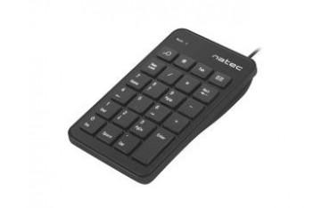 Klawiatura Natec Goby numeryczna USB 23 klawisze czarna