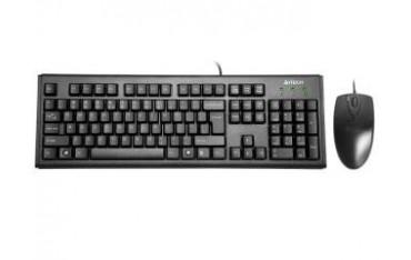 Zestaw przewodowy klawiatura + mysz A4Tech KM-72620D USB czarny