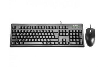 Zestaw przewodowy klawiatura + mysz A4Tech KRS-8372 USB czarny