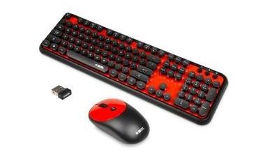 Zestaw bezprzewodowy klawiatura + mysz iBOX Pulsar Pro Kit