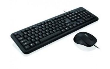 Zestaw przewodowy klawiatura + mysz iBOX Office Kit II czarny