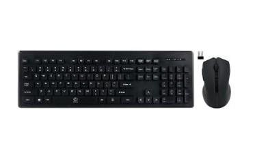 Zestaw bezprzewodowy klawiatura + mysz Rebeltec MILLENIUM czarny