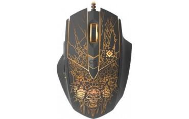 Mysz przewodowa Defender DOOM FIGHTER GM-260L 3200dpi 6P + podkładka Gaming + GRA