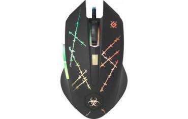 Mysz przewodowa Defender FORCED GM-020L 3200dpi 6P + podkładka Gaming + GRA