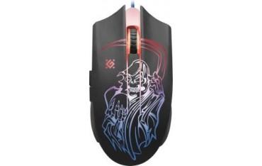 Mysz przewodowa Defender GHOST GM-190L 3200dpi 6P + podkładka Gaming + GRA