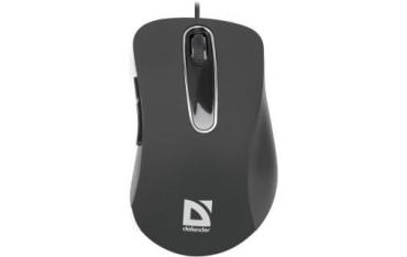 Mysz przewodowa Defender DATUM MM-070 optyczna 1000dpi czarna