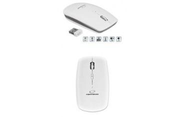 Mysz bezprzewodowa Esperanza SATURN EM120W optyczna biała