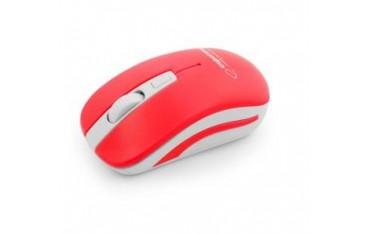 Mysz bezprzewodowa Esperanza Uranus 2.4GHz 4D czerwono-biała