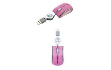Mysz przewodowa Esperanza CELANEO MINI EM109P optyczna różowa