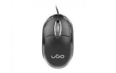 Mysz przewodowa UGO UMY-1007 Simple optyczna 1000 DPI czarna