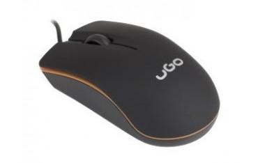 Mysz przewodowa UGO MY-05 optyczna 1200 DPI czarna