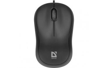 Mysz przewodowa Defender PATCH MS-759 OPTICAL 1000dpi 3P czarna