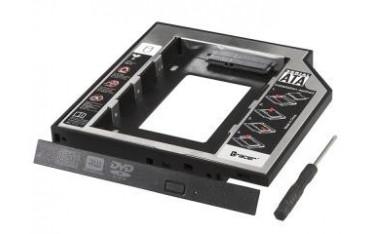 Adapter/Ramka dysk HDD/SSD Tracer do napędu CD/DVD standard 12,7 mm B-127