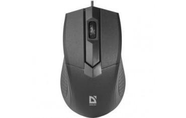 Mysz przewodowa Defender OPTIMUM MB-270 OPTICAL 1000dpi 3P czarna