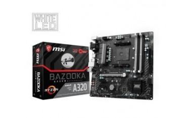 Płyta MSI A320M BAZOOKA /AMD A320/DDR4/SATA3/M.2/USB3.0/PCIe3.0/AM4/mATX