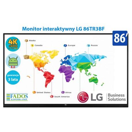 LG 86TR3BF Monitor interaktywny 86 cali 4K z Android 8