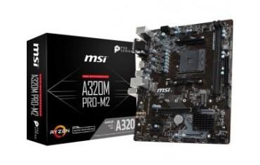 Płyta MSI A320M-A PRO M2 /AMD A320/DDR4/SATA3/USB3.0/PCIe3.0/AM4/mATX