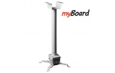 Uchwyt sufitowy do projektorów przenośnych 105-200 cm myBoard BM-2.0