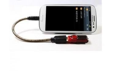 Kabel OTG Unitek Y-C438GBK USB 2.0 AF do microUSB BM