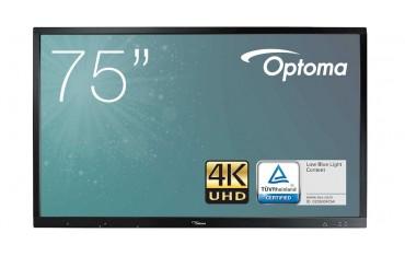 Monitor interaktywny Optoma IFPD OP651RKe 65 cali 4K 0% VAT dla edukacji H1F0C06BW101